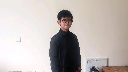 帕格尼尼D大调第一小提琴协奏曲第三乐章,小四刘天佑