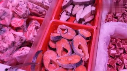香港人的生活:为什么香港的快餐都是肉比菜多,看看香港冻肉的价钱你就知道啦。