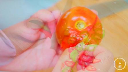 教你自己在家做番茄肥牛面,做法简单,鲜美开胃,比饭店的更好吃