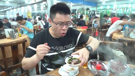 江门五洞村最火爆的牛肉火锅店,生意好到吃完跑单都没人发现!