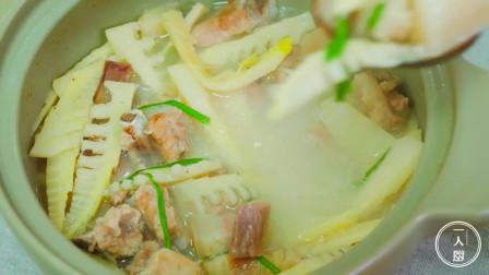 春笋最好吃的做法,味道鲜美做法简单,这才是春天最开胃的下饭菜