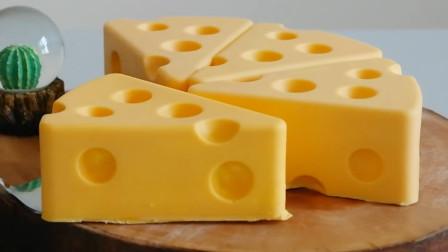 《猫和老鼠》杰瑞最爱的奶酪是这样做的?原来是牛人做的创意蛋糕