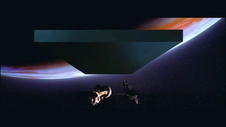 科学家去外太空探索木星,发现一块两公里黑石碑,竟然是造物主
