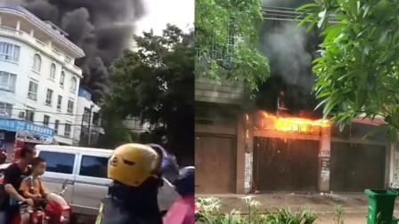 广西防城港市一民房发生火灾造成6人