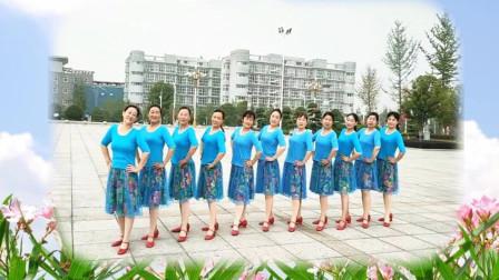 河南唐河一方舞蹈队《只想做你的新娘》团队版