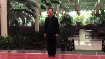42式太极拳于2020年6月在陶然居金色阳光大厅演练