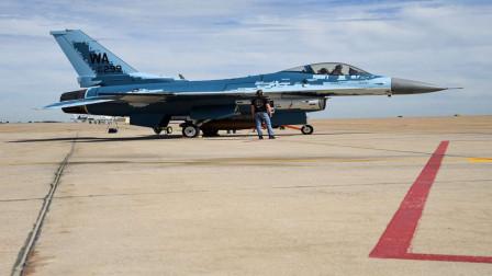 """新""""靶子""""!美军用F-16来模拟苏-57,没高看,对歼-20却格外重视"""
