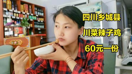 摩旅到四川乡城县,累计行程2200公里,吃60元一份正宗川菜辣子鸡