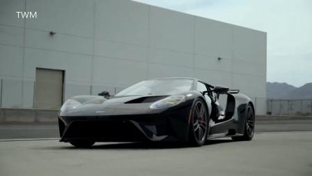 福特GT超跑,太帅了!不比法拉利及兰博基尼差的超级跑车