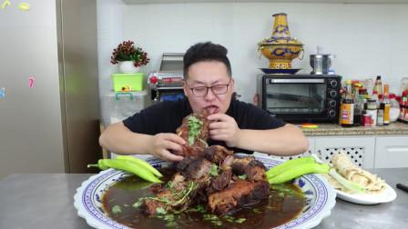 农村小伙花660买20斤驴肉做道酱香驴肉,鲜嫩可口,唇齿留香