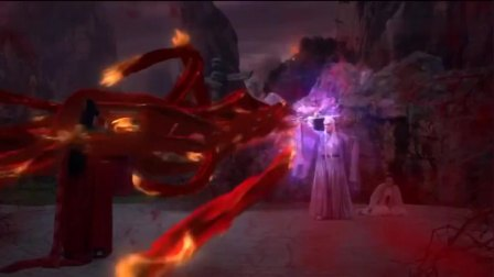 魔尊杀了凤九,让帝君尝到锥心刺骨之痛,凤九将心头血抹在剑上去杀缈落!