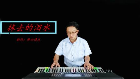 《抹去的泪水》电子琴演奏