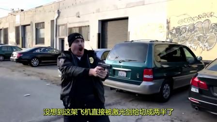"""牛人自制激光剑,上演真人版""""星际争霸"""",场面相当炫酷!"""