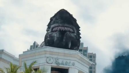 狂鲨登陆袭击城市人类惊魂逃亡