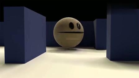 吃豆人:吃豆大作战:吃豆人VS怪物吃豆人复仇记 3D动画