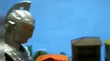 《赛文奥特曼》超燃战斗特效动画!创意无限咸鱼必败