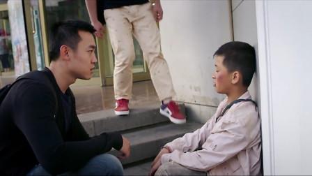 大海与天使:盲人小孩依靠超高听力自救成功,最后人贩子被抓到,太解气了