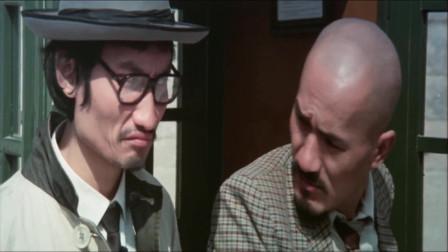 电影最佳拍档2大显神通,许冠杰和光头佬被精神病骗进精神病院