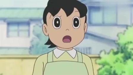 哆啦A梦:大雄用立体拷贝纸复制了一个静香,让静香妈妈看懵了