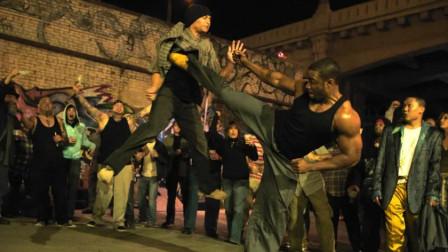 血与骨:监狱格斗家被释放后,横扫地下黑拳,居然还有点功夫味道