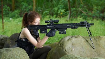 详解德国DSR-1狙击步枪,双弹匣设计,100码精度达到了0.2MOA