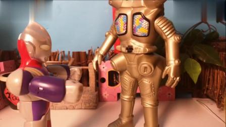 金古桥偷吃迪迦奥特曼的面包,奥特曼玩具故事