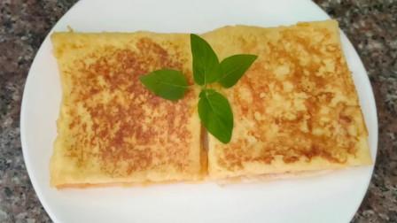 吐司面包这样做,外脆里嫩,香软好吃