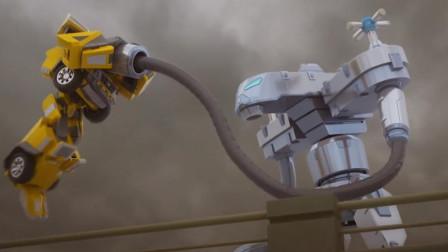 迷你特工队麦克斯和螃蟹机器人绿色岛屿遇到贝尔曼谁赢?
