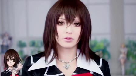 二次元美妆:女子Cosplay吸血鬼骑士妆容,你喜欢吗?