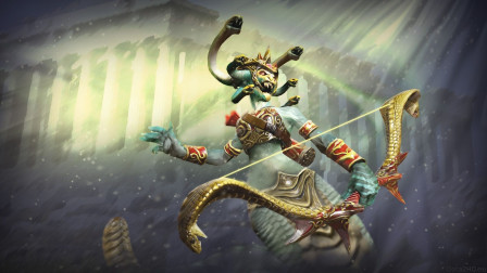 【于拉出品】魔兽RPG第1784期:战就战,远古大蛇丸对战吉安娜大师
