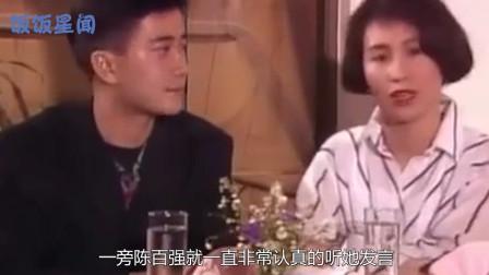 1988年的何超琼珍贵画面曝光,颜值惊为天人,30岁的陈百强怎能不心动?