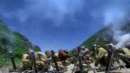 八路军佯装撤退,把鬼子引进山谷,八路大怒,全军出击,一个不留