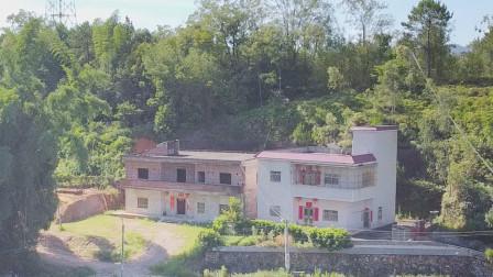 广西农村二兄弟房子,同一座山为何老大风水好,什么现象?