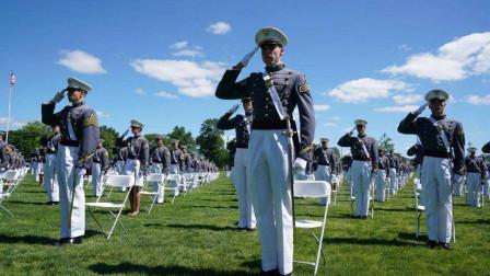 """西点军校毕业典礼,特朗普称""""不是世界"""",据爆料,典礼是逼着办的"""