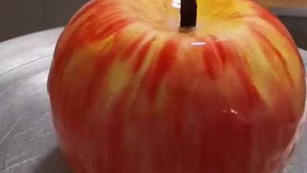 """好逼真的""""苹果""""蛋糕,这手艺也太赞了吧!"""