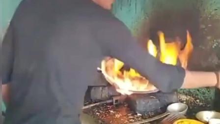 印度餐厅的中式炒饭,这是我见过锅气最重的美食了!