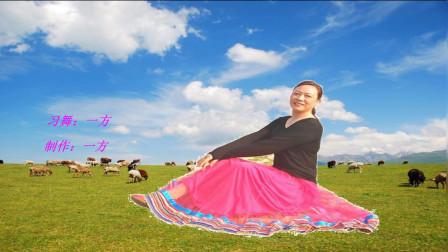 河南唐河一方舞蹈队《草原最美的花》个人版民族舞