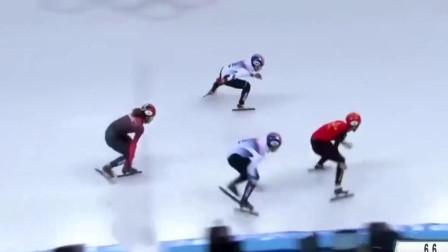 滑冰:跟韩国的短道速滑比赛,看着都刺激,最后武大靖创造世界纪录夺得冠军!