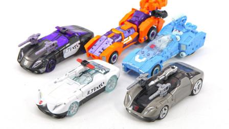 变形金刚WFC围城系列 警车 蓝霹雳 路障 克劳莉娅 Lancer玩具