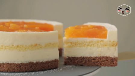 橙汁的清香,芝士的醇厚,夏天一定要试一次橙汁芝士蛋糕