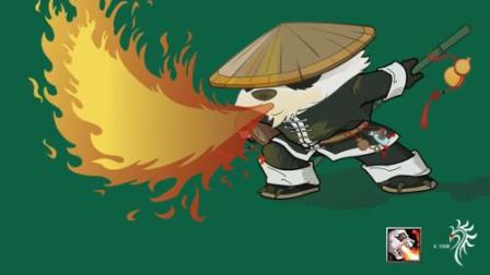 【于拉出品】魔兽RPG第1786期:战就战,位置造错了熊猫酒仙对战暗影猎手