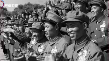 """1953年国庆大阅兵,中国志愿军出现在现场,被称为""""最可爱的人"""""""