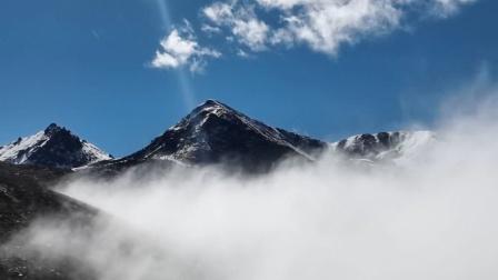 🤗奔驰在川西路,醉倒在绝美雪山和流云中🦋