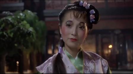 唐伯虎点秋香:风华绝代石榴姐对唐伯虎说,不要因为我是娇花而怜惜我
