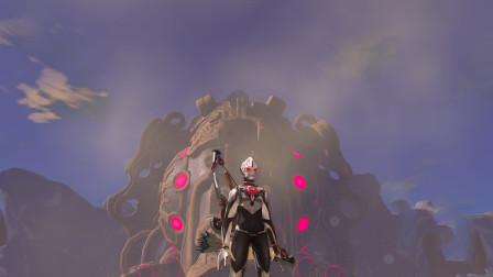 欧布传说28:暗黑欧布进入神兽体内,成功解除全部机关