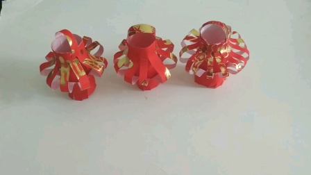 红包简单制作小灯笼