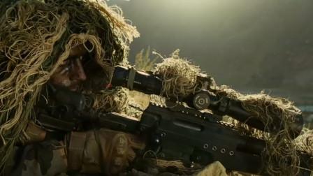 这才叫狙击电影 顶级狙击手远程狙杀压制上百塔利班武装的疯狂围攻!