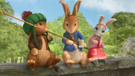 比得兔:三个可爱兔子,他们每天快乐的生活,故事开始吧