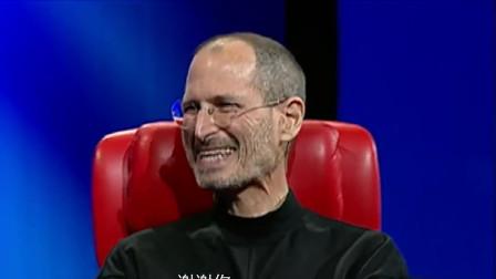 """乔布斯:""""苹果之父""""被问及市值超越微软有什么想法?感觉像做了场梦!"""