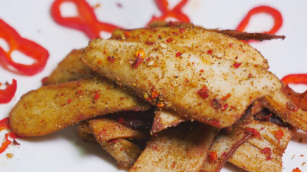 香煎杏鲍菇,还能吃出肉的味道?关键在于调料